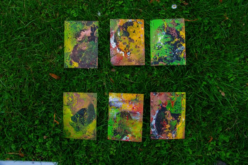 Graffiti Kunst Karten