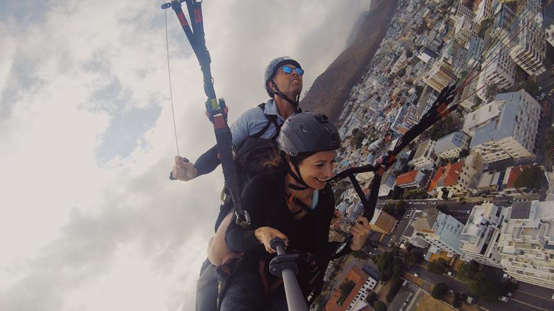 Südafrika Urlaub Paraglide