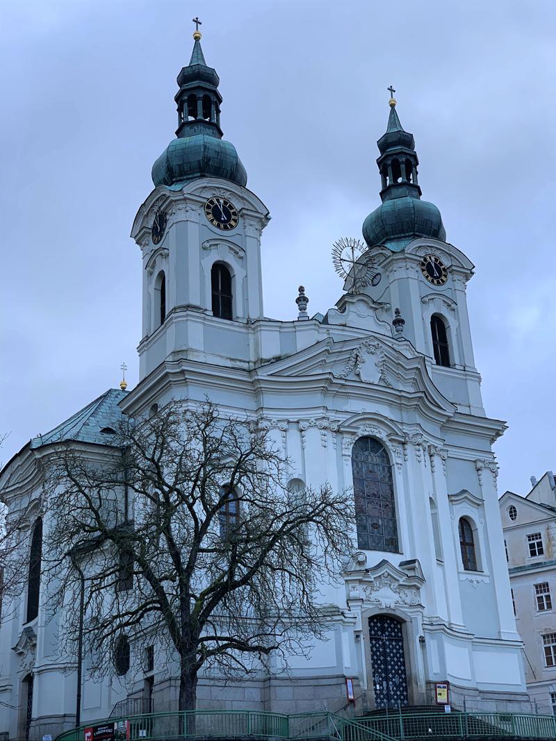 Karlsbad Tschechien Kirche