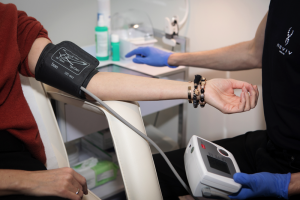 Infusionstherapie Blutdruck