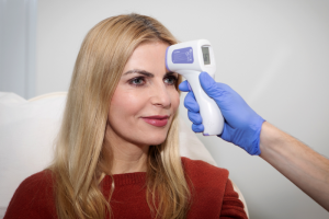 Infusionstherapie Fieber messen