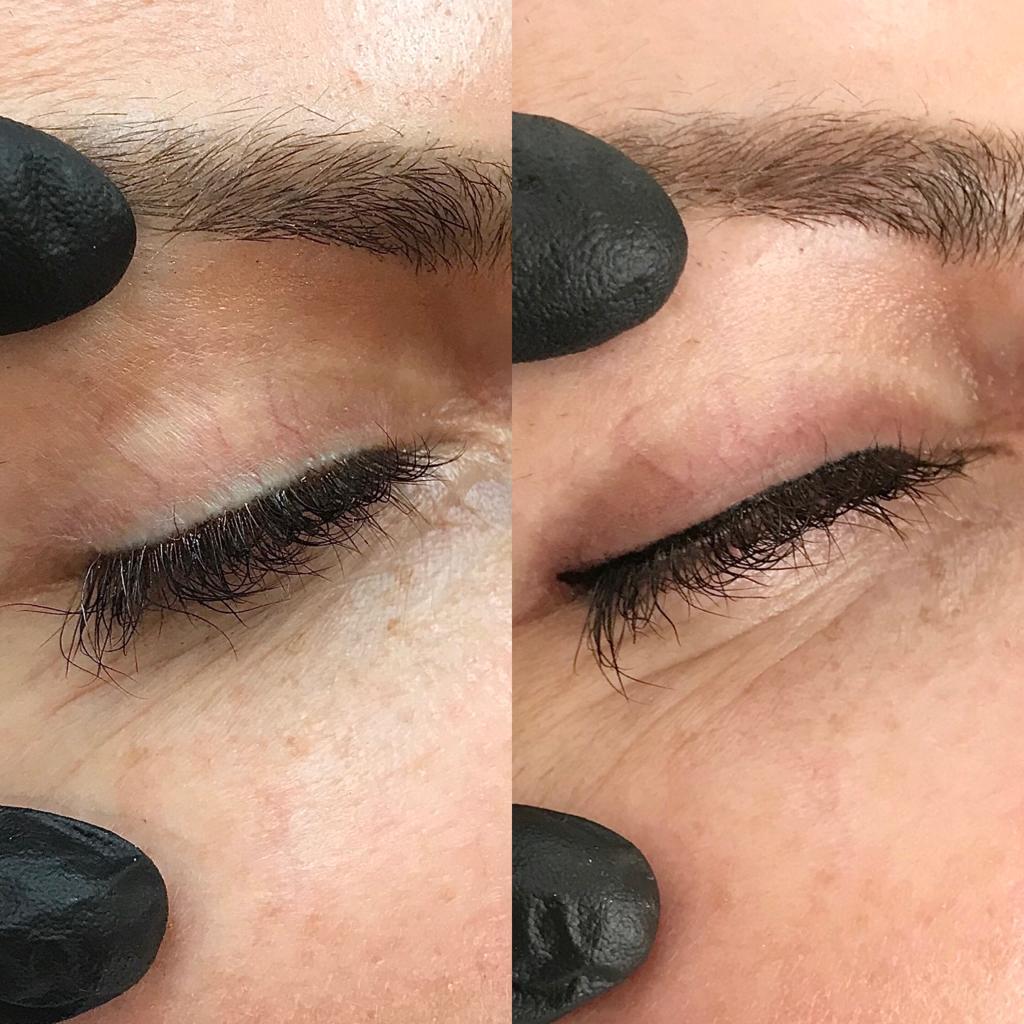Permanent Makeup vorher nachher