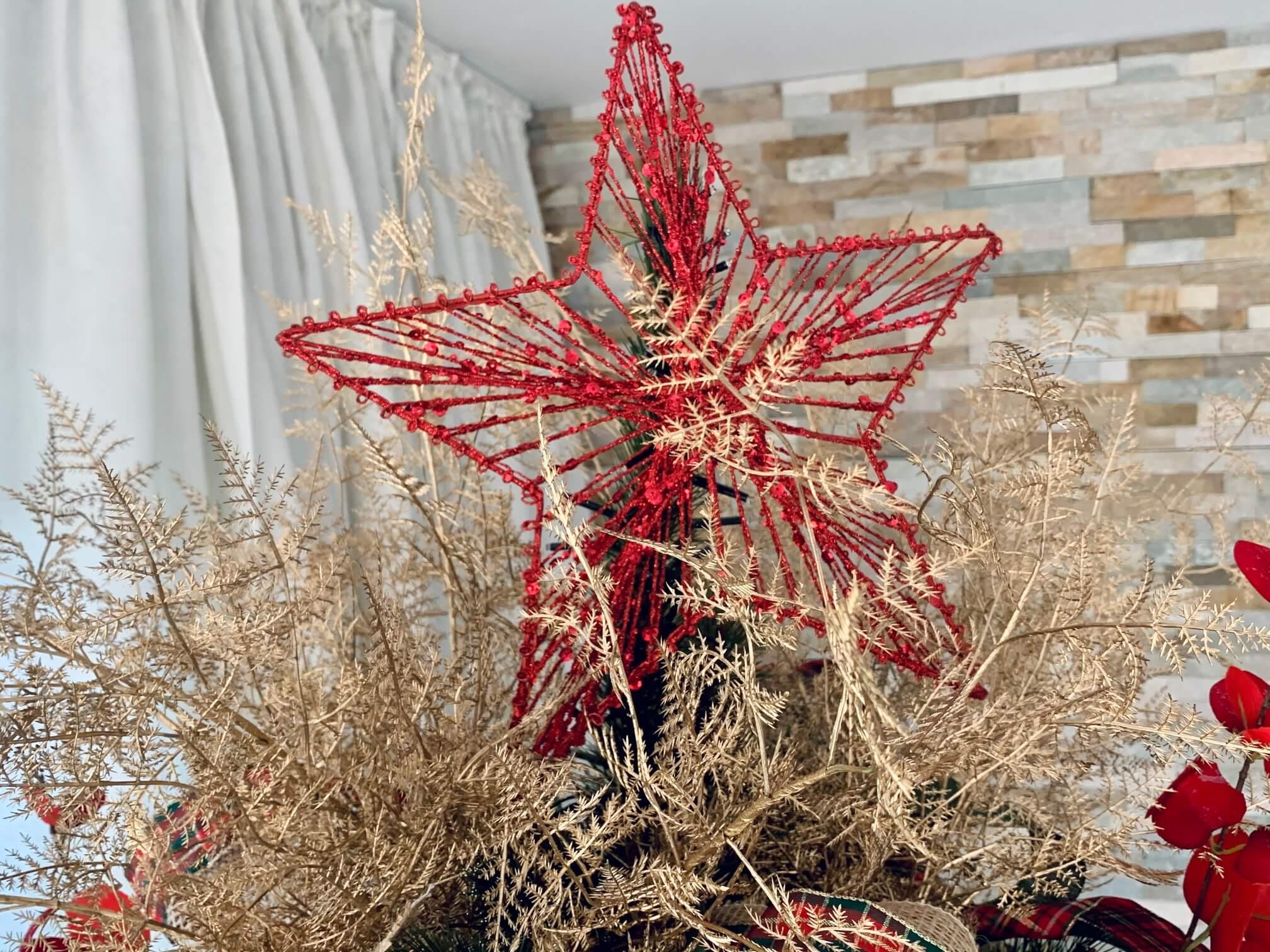 Weihnachtsbaumspitze